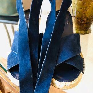 Vince Camuto Wrap Espadrille Wedge Sandal